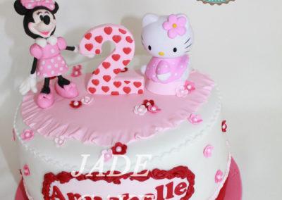 gâteau personnalisé fille bébé anniversaire fête jade cake brabant wallon pâte à sucre (36)