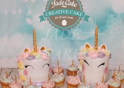 gâteau personnalisé fille bébé anniversaire fête jade cake brabant wallon pâte à sucre (37)