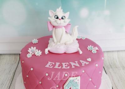 gâteau personnalisé fille bébé anniversaire fête jade cake brabant wallon pâte à sucre (7)