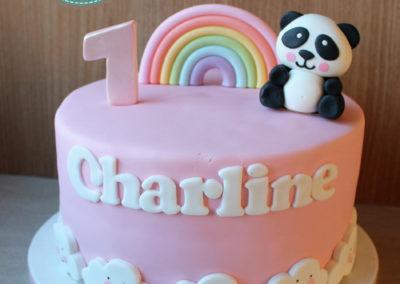 gâteau personnalisé fille bébé anniversaire fête jade cake brabant wallon pâte à sucre (8)