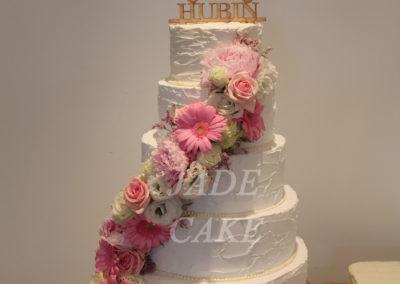mariage wedding cake sans pâte à sucre jade gâteau anniversaire adulte brabant wallon fête (2)