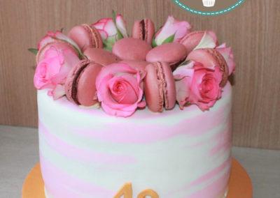 mariage wedding cake sans pâte à sucre jade gâteau anniversaire adulte brabant wallon fête (6)